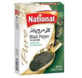 National Black Pepper Powder 100G Dozen