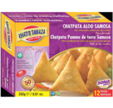 Khatir Tawaza Chatpata Potato Samosa 250g (12 pc x 12 packs)